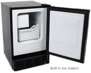 Built in ice makers
