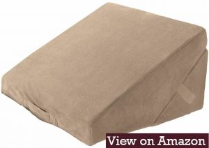Brookstone 4-in-1 bed wedge pillow