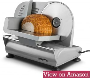 Gourmia GFS700 Proffesional Electric Power Meat and Food Slicer