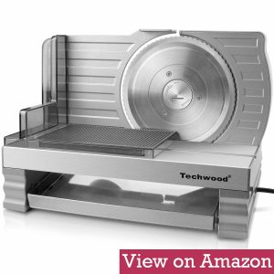 Techwood Meat and Deli food Slicer
