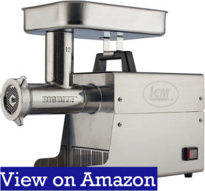 LEM Products Stainless Steel Meat Grinder